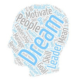 In Leadership Dreams Are The Stuff That Great vector image vector image