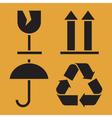 Packaging Symbols vector image vector image