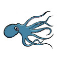 sketch of octopus vector image