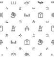 balance icons pattern seamless white background vector image vector image