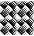 black and white abstract geometrical dot pattern vector image vector image