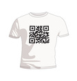 business qr code vector image vector image