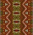 ethnic striped seamless tribal pattern vector image