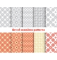 Geometrical seamless pattern vector image