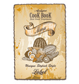 antique vintage label vector image