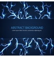 Abstract background with lightnings and text vector image vector image