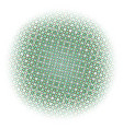 abstract halftone color circles dot template eps vector image