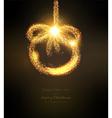 Abstract Ornamental Christmas Design vector image
