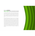 Colorful paper sheets vector image vector image