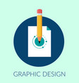 graphic design creative abstract design vector image