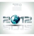 high tech 2012 vector image