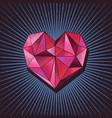 love diamond concept vector image vector image
