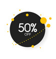 sale special offers discount with price is vector image