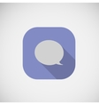 speech dialog flat icon vector image