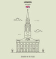 st martin-in-the-fields in london vector image vector image