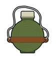 water canteen icon vector image vector image