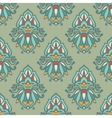 Luxury Damask vintage seamless pattern vector image