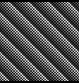 abstract black and white dot pattern background vector image vector image
