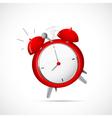 Alarm clock cartoon vector image vector image