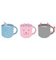 cute mug mix vector image