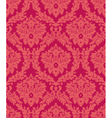 damask red vector image vector image