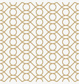 geometric seamless pattern with line modern vector image vector image