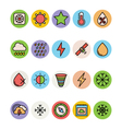 Weather Colored Icons 4 vector image vector image