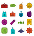 black friday icons doodle set vector image vector image