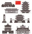 China vector image vector image