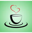 coffee lovers vector image