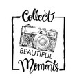 collect beautiful moments with retro camera
