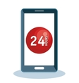 customer service online icon vector image vector image