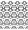 dotted seamless pattern abstract black and vector image
