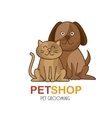 group animals pet shop vector image vector image