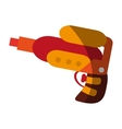 Isolated water gun toy design vector image vector image