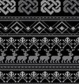 pattern crochetN vector image