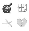 production travel hobby and other web icon in vector image vector image