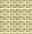 seamless brick wall background tiled brick vector image
