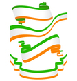 set of ribbons for St Patricks Day vector image vector image