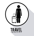 Travel desgin vector image