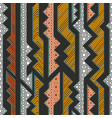 tribal geometric pattern vector image vector image
