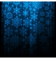 Blue christmas background with snowflakes EPS 10