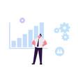 businessman developing potential analysing