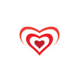 love symbol design vector image