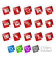 Office Business Stickers vector image