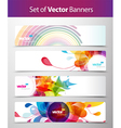 web headers vector image vector image