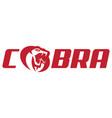 cobra logo symbol vector image vector image