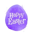 happy Easter logo design template egg or vector image vector image