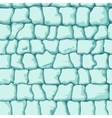 ice brick seamless pattern vector image vector image