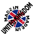 Made in United Kingdom vector image